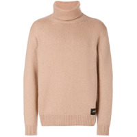 Stella Mccartney Suéter Gola Rulê - Brown