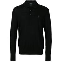 Polo Ralph Lauren Camisa Polo Mangas Longas - Preto