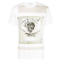 Comme Des Garçons Shirt Camiseta Com Estampa - Branco