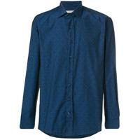 Etro Camisa Estampada - Azul
