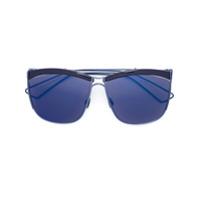 Dior Eyewear Óculos De Sol 'so Electric' - Azul