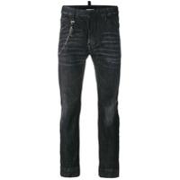 Dsquared2 Calça Jeans Reta - Preto