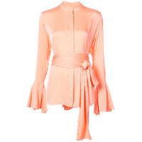 Ellery Camisa Com Cinto - Pink & Purple