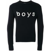 Comme Des Garçons Shirt Boys Suéter 'boys' - Azul