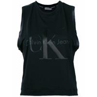 Ck Jeans Regata Com Estampa De Logo - Preto