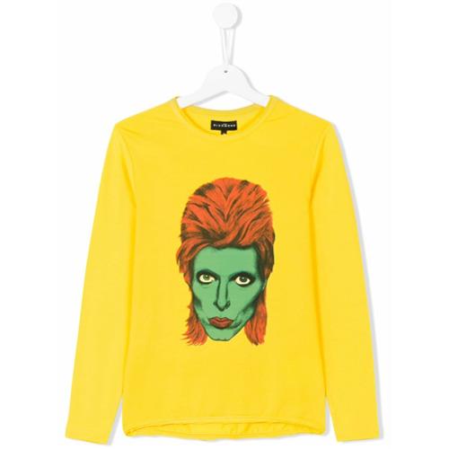 e60d72f6102 Blusa com estampa David Bowie amarela em algodão stretch