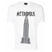Emporio Armani Camiseta Com Estampa - Branco