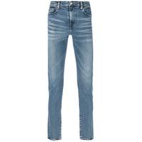 Ps By Paul Smith Calça Jeans Com Efeito Desbotado - Azul