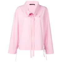 Cédric Charlier Camisa Mangas Longas - Pink & Purple