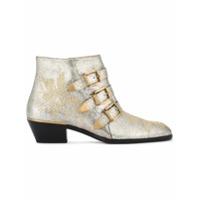 Chloé Ankle Boot 'susanna' - Metallic