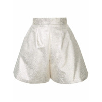 Bambah Shorts Com Brilho - Metallic