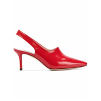 Casadei Sapato Mule De Couro - Vermelho