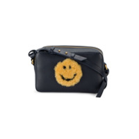 Anya Hindmarch Bolsa Transversal Mini 'smiley' - Azul