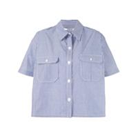 Chalayan Camisa Listrada - Azul