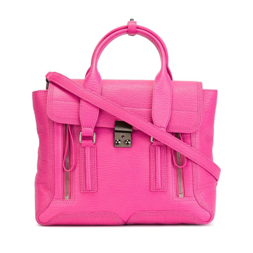 Imagem de 3.1 Phillip Lim Bolsa modelo 'Pashli' de couro - Pink & Purple