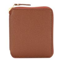 Comme Des Garçons Wallet Carteira De Couro Modelo 'luxury Group' - Brown