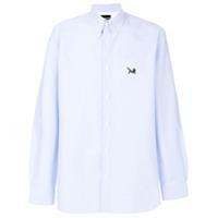 Calvin Klein 205W39Nyc Camisa Com Patch - Azul