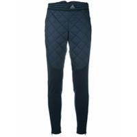 Adidas By Stella Mccartney Calça Legging Cenoura 'moto' - Azul