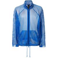Adidas Originals By Alexander Wang Blusa De Moletom De Mesh - Azul