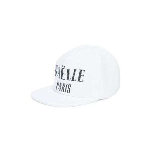 Gaelle Paris Kids Boné com estampa de logo - Branco
