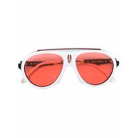 Carrera Óculos De Sol 'flag' - Branco
