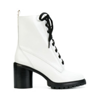 Marc Jacobs Ankle Boot 'ryder Lace Up' - Branco