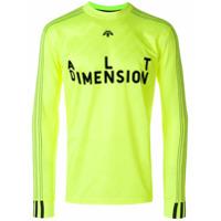 Adidas Originals By Alexander Wang Blusa Mangas Longas 'soccer' - Amarelo E Laranja