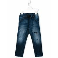 Diesel Kids Calça Jeans - Azul
