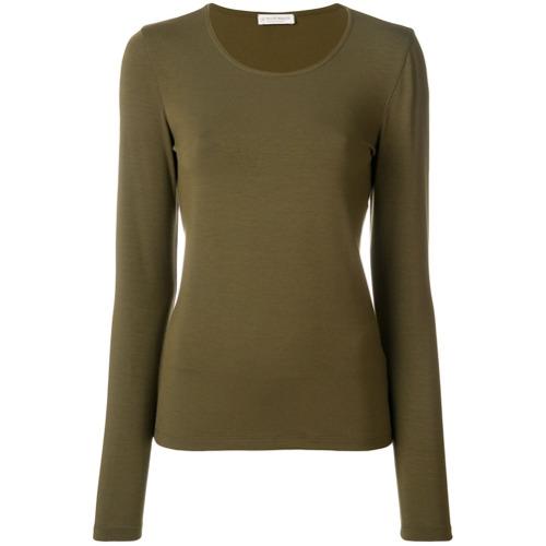 Le Tricot Perugia Camiseta mangas longas - Green