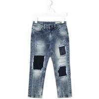 Diesel Kids Calça Jeans Boyfriend - Azul