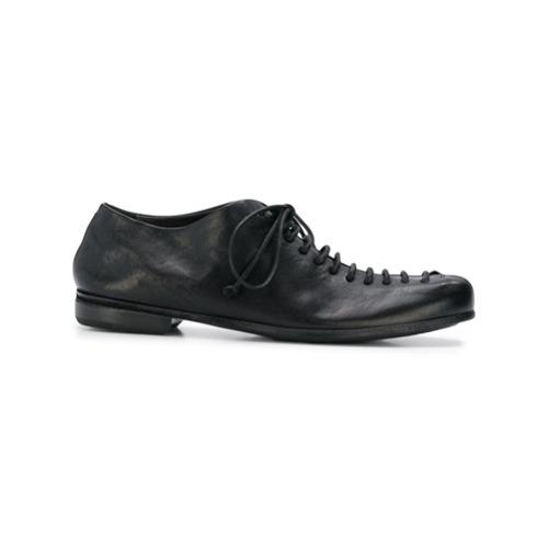 a11c31291f Promoção de Marsell sapato de camurca plataforma com cadarco amarelo ...
