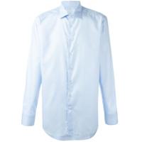 Etro Camisa Mangas Longas - Azul