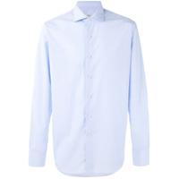 Alessandro Gherardi Camisa Mangas Longas - Azul