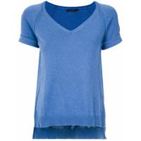 Alcaçuz Blusa 'braga' De Tricô - Azul