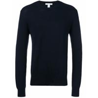 Comme Des Garçons Shirt Suéter Decote Careca - Azul