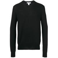 Comme Des Garçons Shirt Suéter Decote Careca - Preto