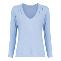 Fillity Blusa Decote V - Azul
