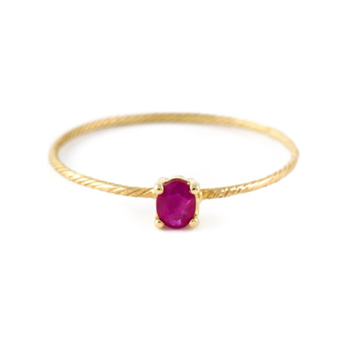 wouters-hendrix-gold-ruby-ring-vermelho
