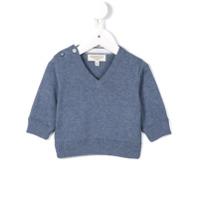 Cashmirino Suéter De Algodão - Azul