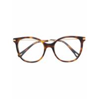 Chloé Eyewear Armação De Óculos Redonda - Brown