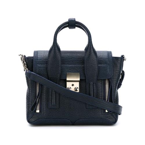 Imagem de 3.1 Phillip Lim Bolsa de couro modelo 'Pashli' - Azul