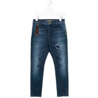 Patrizia Pepe Junior Calça Jeans Skinny - Azul