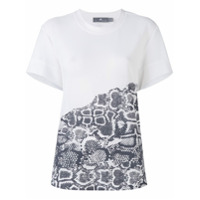 Adidas By Stella Mccartney Camiseta Com Estampa De Cobra - Branco