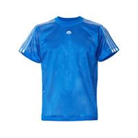 Adidas Originals By Alexander Wang Camiseta Translúcida Com Logo - Azul