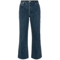 A.p.c. Calça Jeans Flare Cropped - Azul