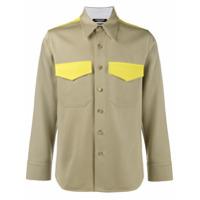 Calvin Klein 205W39Nyc Camisa Com Contraste - Nude & Neutrals