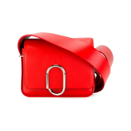 Imagem de 3.1 Phillip Lim Bolsa mini modelo 'Alix' transversal - Vermelho