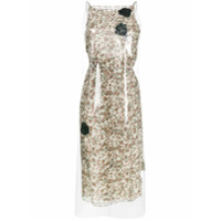 Calvin Klein 205W39Nyc Vestido Midi Floral - Estampado