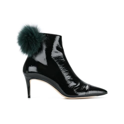 Imagem de Jimmy Choo Ankle boot de couro 'Tesler 65' - Preto
