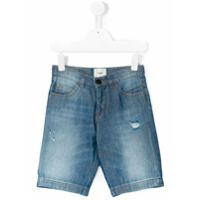 Fendi Kids Short Jeans - Azul
